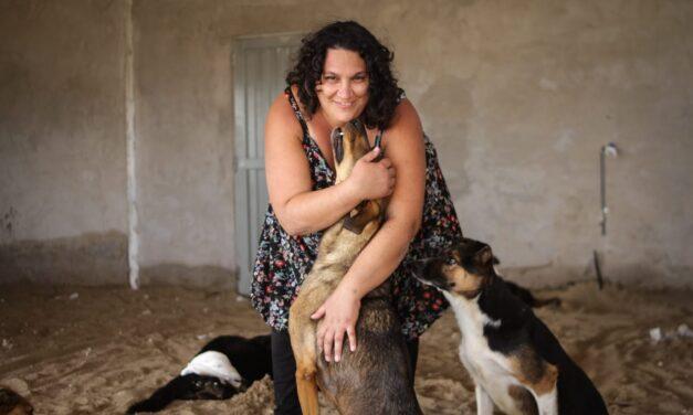 Campaña solidaria para un refugio de animales con discapacidad