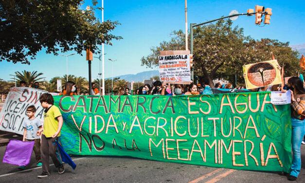 Andalgalá: perseguides por defender el agua