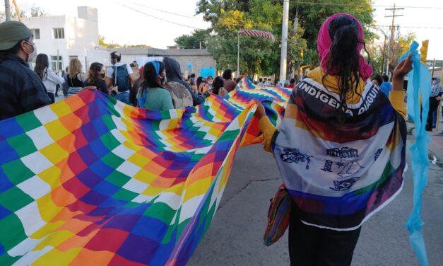 Mujeres diaguitas marcharon al Cerro Aconquija