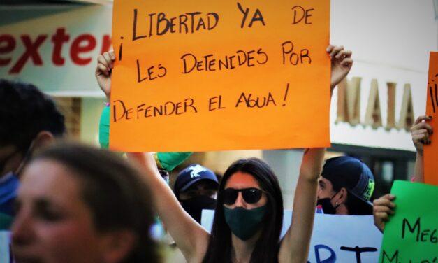 La situación de les detenides en Andalgalá