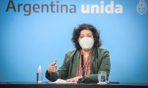 Nuevo pico de contagios por COVID-19 en Argentina