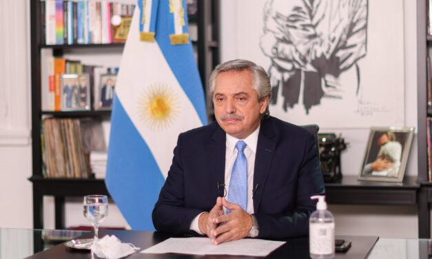 Alberto Fernández anunció nuevas restricciones por el Covid-19