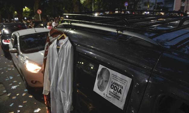 Bocinazo «por la salud y la vida» en jefatura de Gobierno Porteño