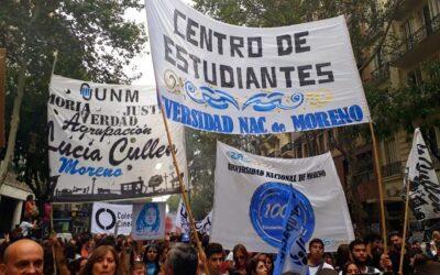 Elecciones en la Universidad de Moreno