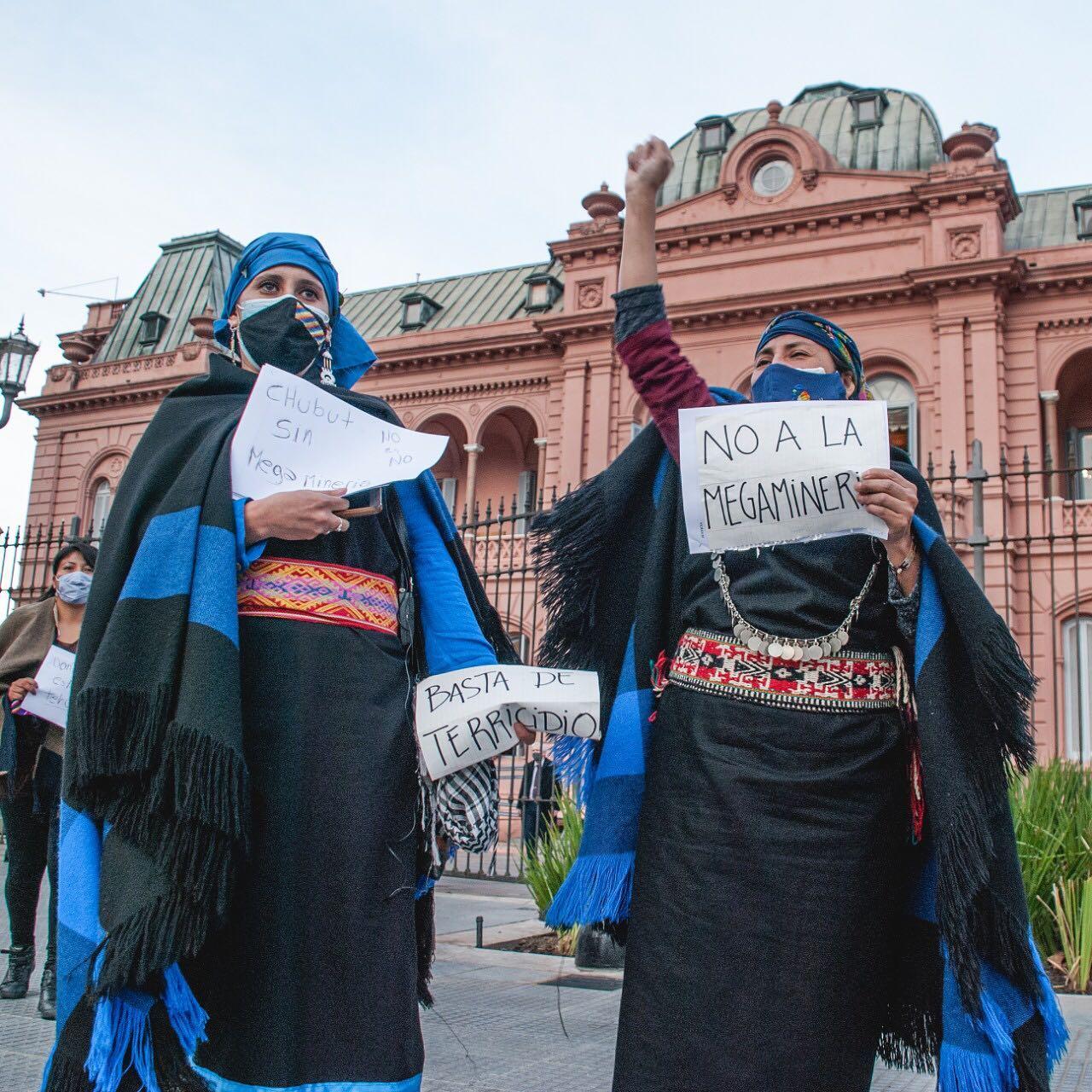 Mujeres indígenas llegan a Buenos Aires