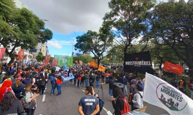 Jornada internacional solidaria en apoyo al pueblo colombiano