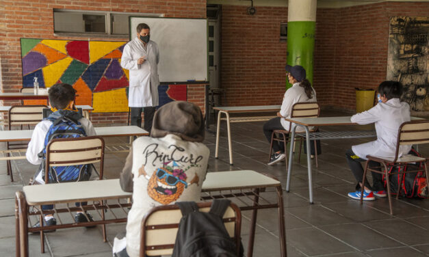 Continúan las clases presenciales en la Ciudad de Buenos Aires