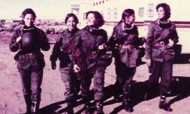 Alicia Reynoso fue reconocida como Veterana de Guerra