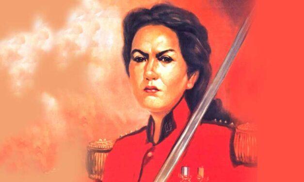 159º aniversario de la muerte de Juana Azurduy
