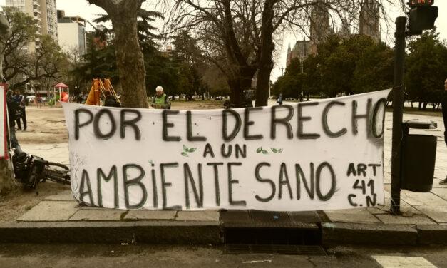 Organizaciones ambientales realizaron caravana en La Plata