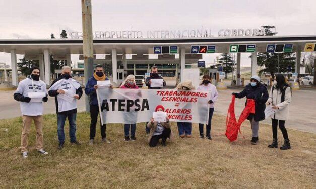 Continúa la medida de fuerza de trabajadores de ATEPSA