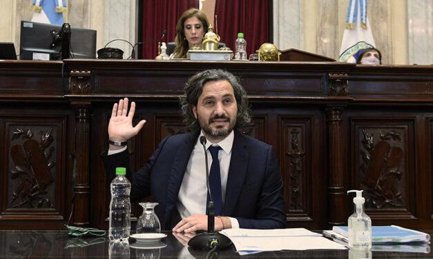 Informe del Jefe de Gabinete de Ministros Santiago Cafiero