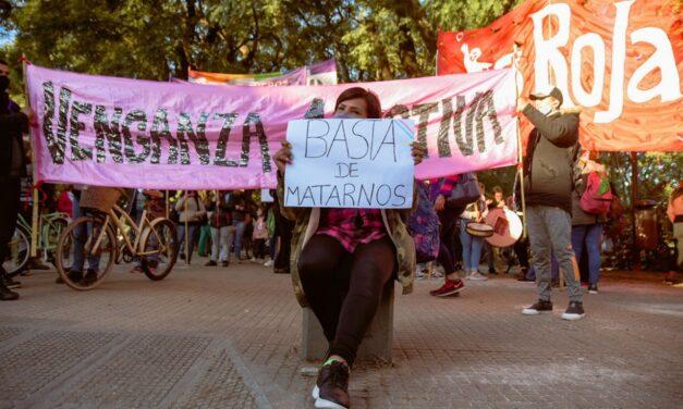 Marcha en reclamo por el crimen de Soraya
