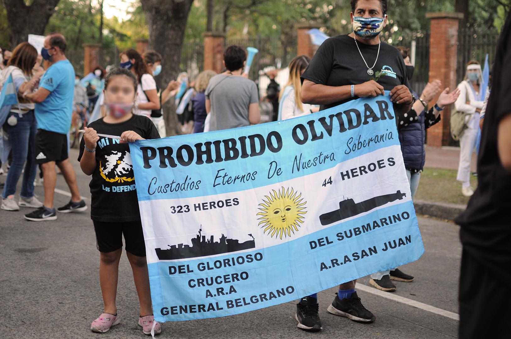 Salvador Mazza: el recuerdo del ARA San Juan