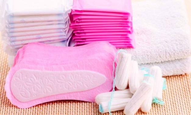 Realizan campaña para distribuir productos de higiene menstrual