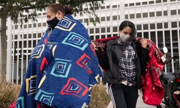 """Nueva jornada de lucha docente: """"Con frío no se puede estudiar"""""""
