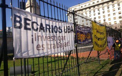 Reclamos de becaries de la UBA afectades por la pandemia