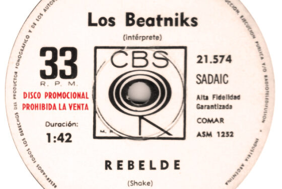 Rebelde, la primera canción del rock argentino