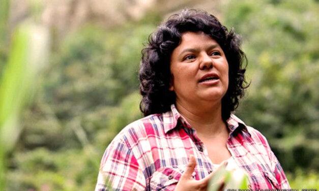 Acción digital para pedir justicia por Berta Cáceres