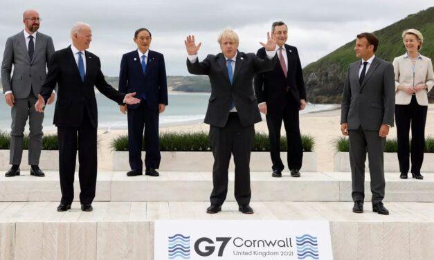 Acusaciones cruzadas entre China y el G7