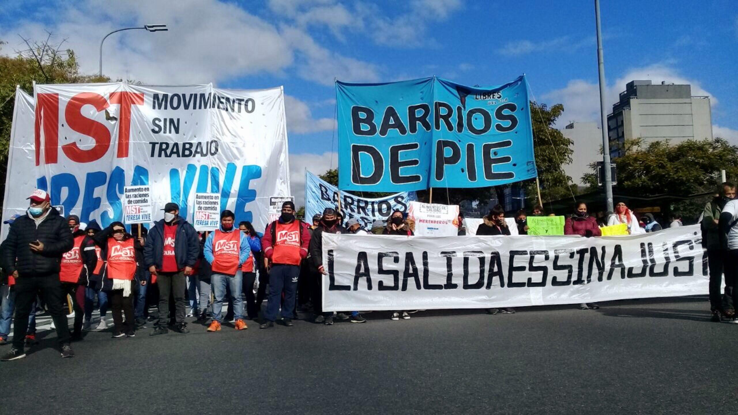 Frente al ajuste, unos 70 mil manifestantes se hicieron oír en Capital Federal