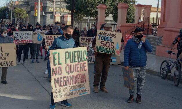 Andalgalá: 600 caminatas contra el proyecto MARA