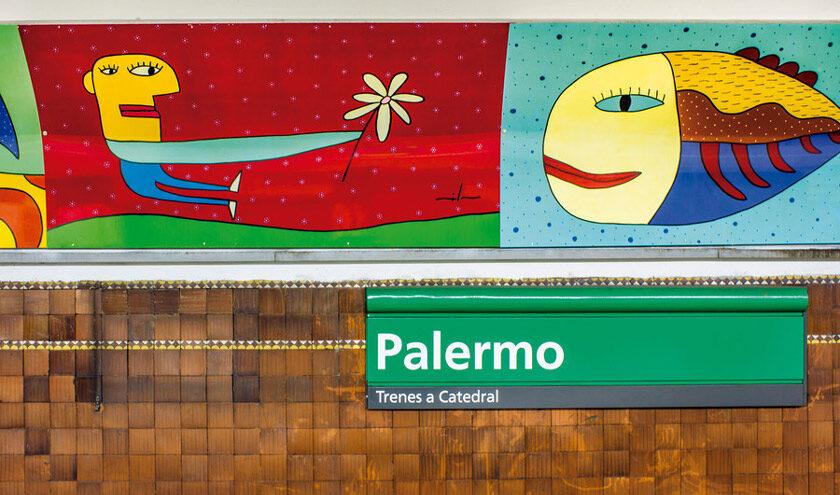 Créditos: Libro Arte en el Subte de Buenos Aires.