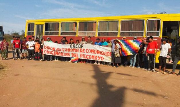 Movilización de comunidades indígenas en Salta