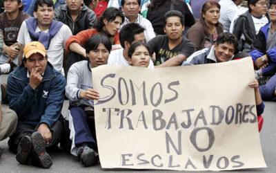 La provincia de Buenos Aires tendrá un protocolo contra la trata y explotación laboral