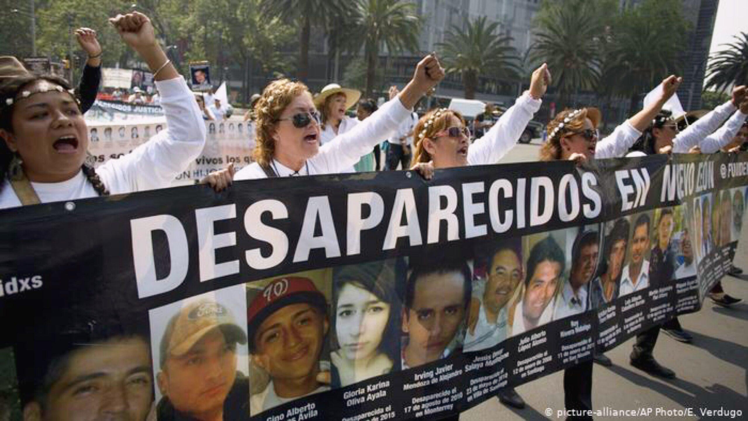 Histórica impunidad en México: la desaparición forzada como práctica cotidiana