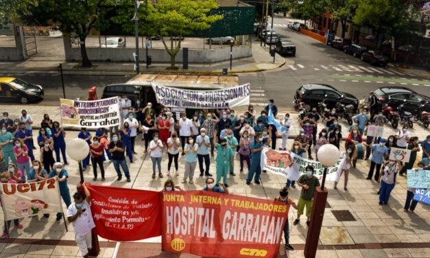 El Ministerio de Salud convocó a reunión a profesionales y técniques del Hospital Garrahan