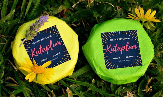Kataplum, los alfajores veganos que son un éxito