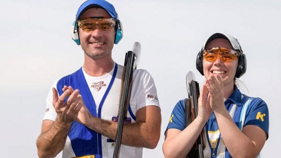 Melisa y Federico Gil - TELAM - Lucas Carballo