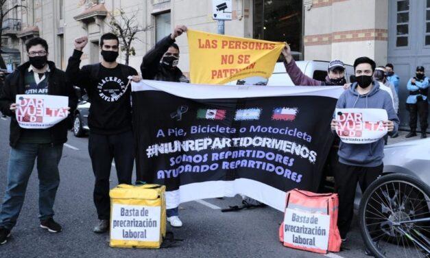 Agrupación de trabajadores de delivery solicita que se reconozcan sus derechos  laborales