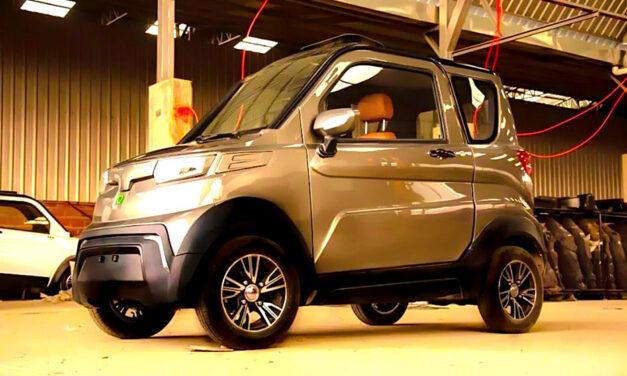 Quantum, el auto eléctrico boliviano