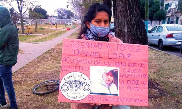 Libertad para Jorge Daniel Lopez