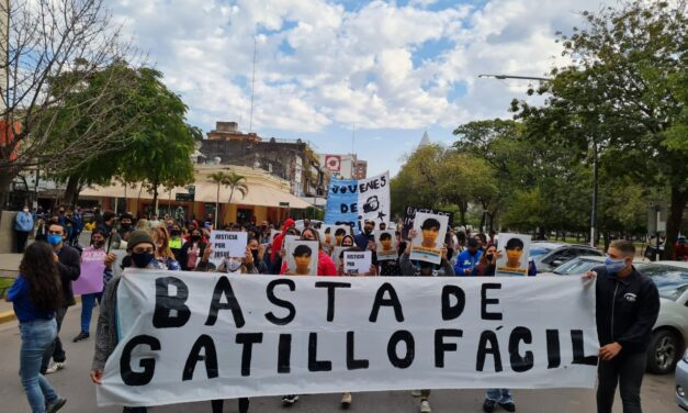 Cansades del gatillo fácil en Chaco: Jóvenes de Pie busca justicia por Josué
