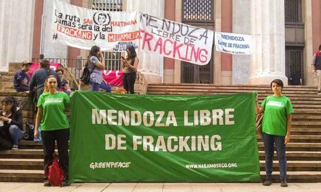 Mendoza le dice no al fracking con una acción global