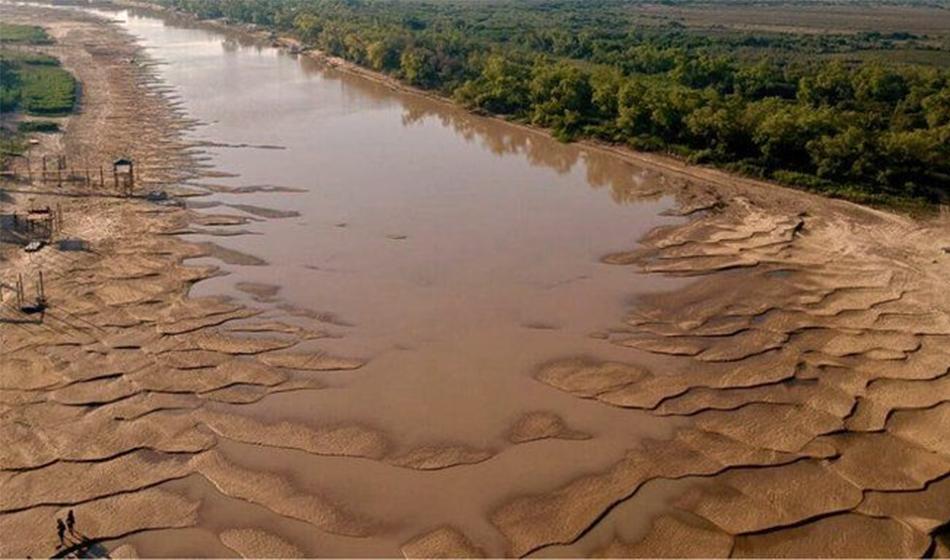 Río Paraná - bajante