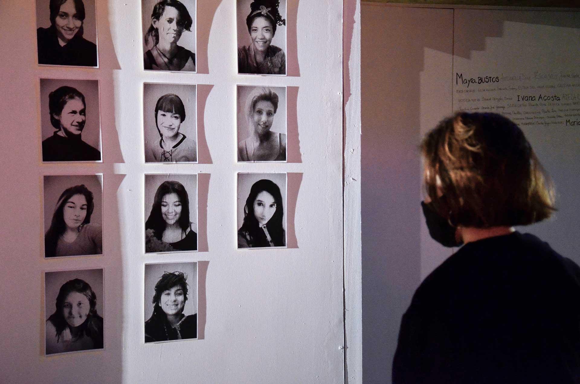 Retratos de femicidios