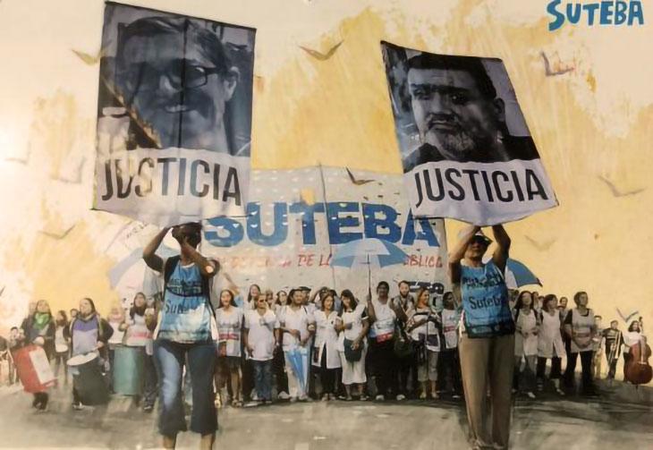 Pedido de justicia por Sandra y Rubén