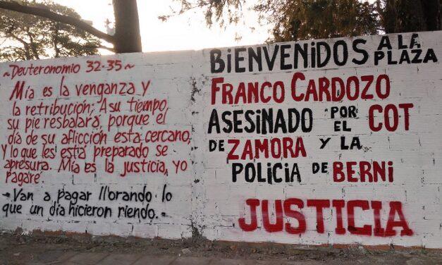"""""""El Estado se tiene que hacer responsable del asesinato de Franco''"""