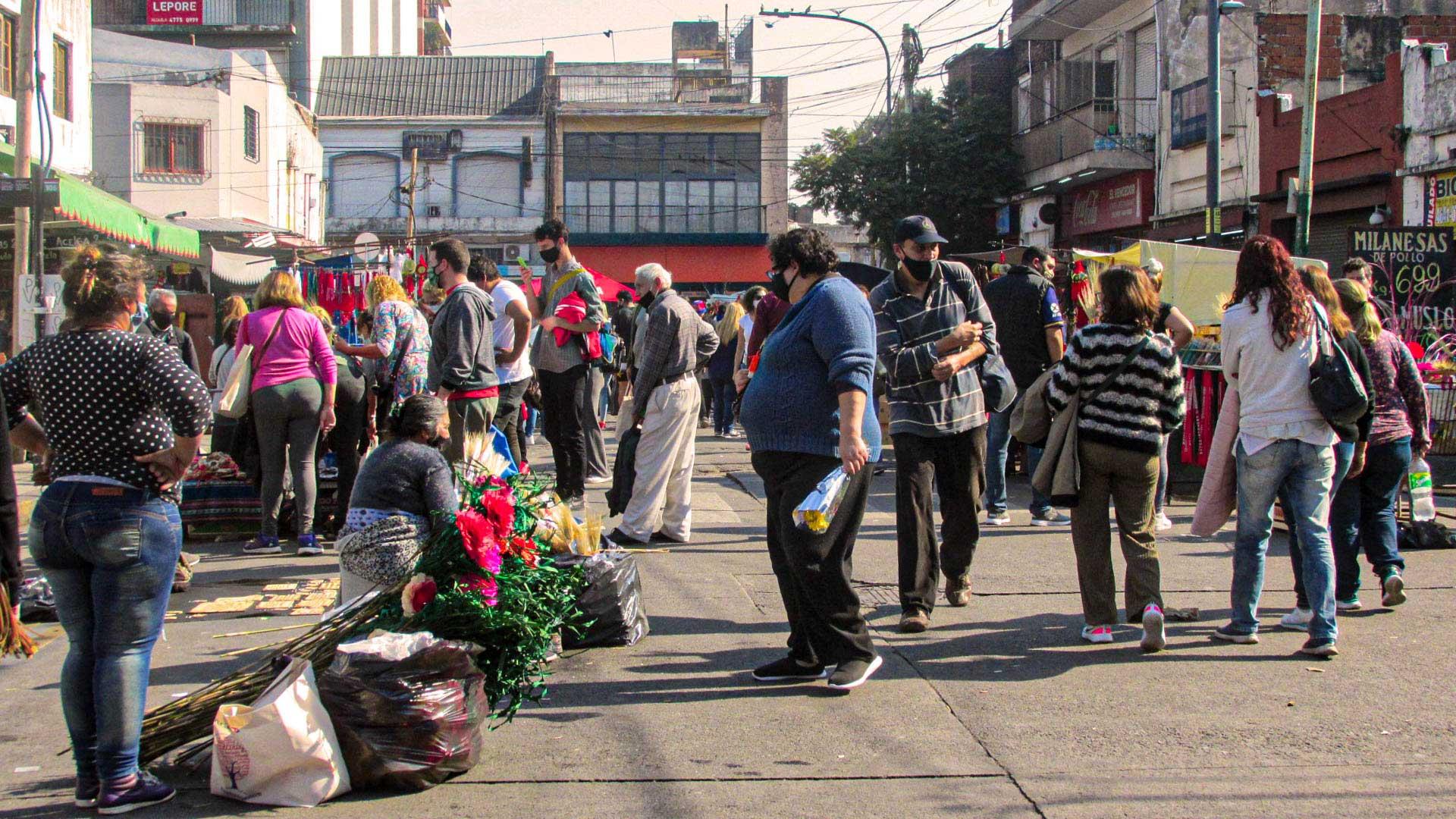 Feria en Liniers