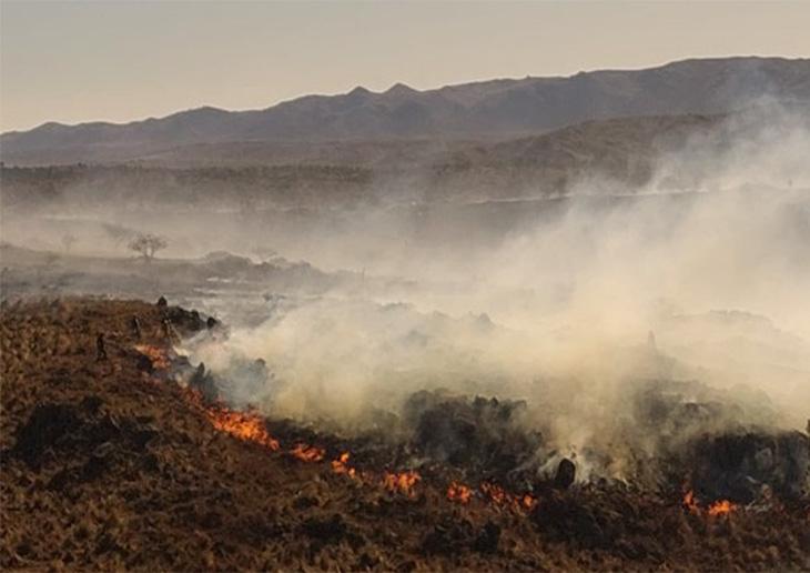 Córdoba incendios