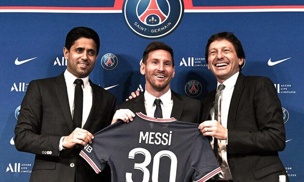 """""""ICI C'EST PARÍS"""": Lionel Messi fue presentado en el PSG"""
