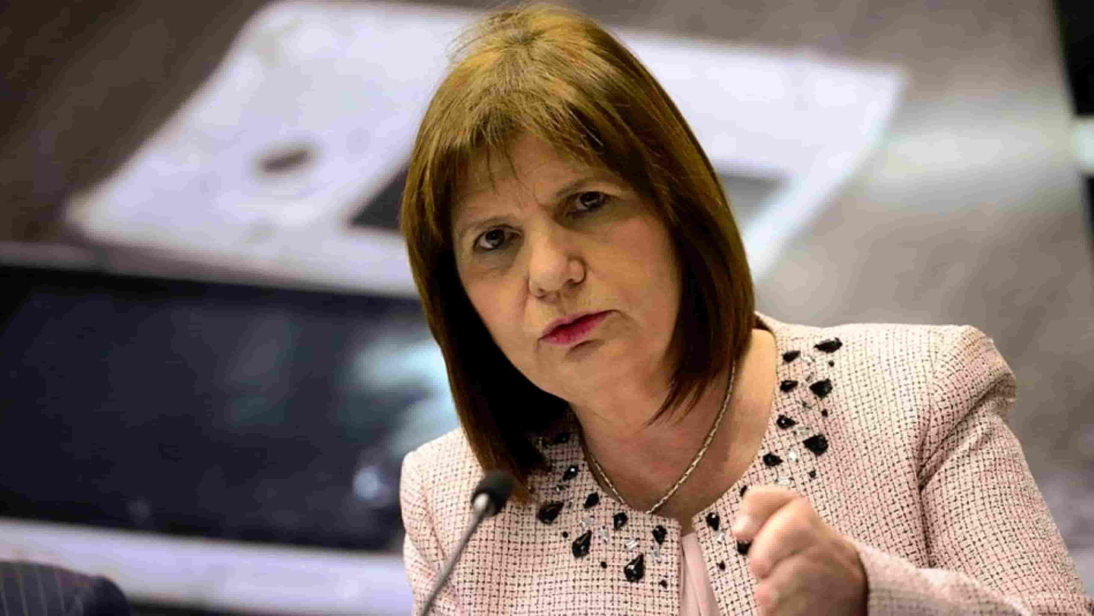 La comunidad mapuche será querellante contra Patricia Bullrich