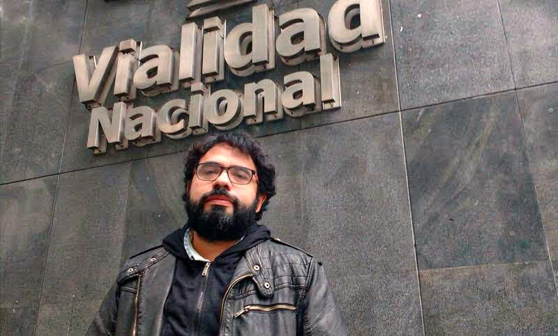 Fabián Cattanzaro, secretario gremial de la Federación de Personal de Vialidad Nacional
