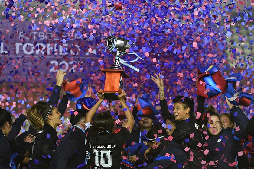 Televisación fútbol femenino