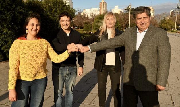 Vamos con Vos presenta a sus precandidates en La Plata