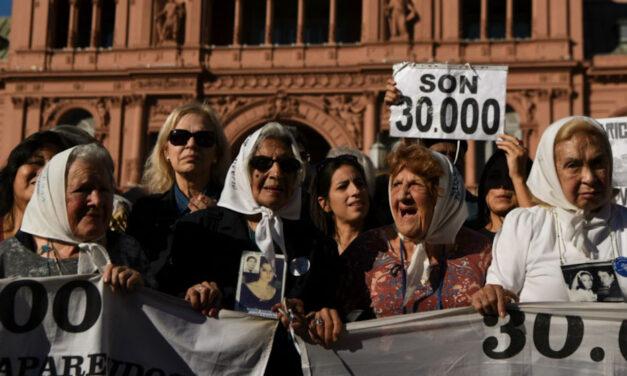 """""""SON 30.000"""": nuevo nombre para una calle de la Ex ESMA"""